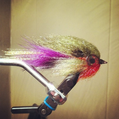laser dub bluegill fly